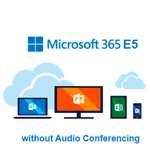 Microsoft 365 E5 without Audio Conferencing картинка №23496
